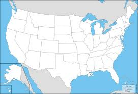 alaska and hawaii on us map united states with alaska and hawaii free map free blank map