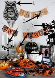 Halloween Party Decorations Homemade - halloween owl decorations diy halloween party decorations spirit