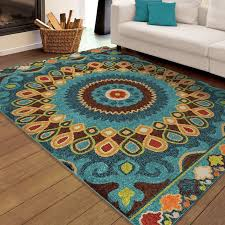 Blue Brown Area Rugs 30 Best Area Rug Images On Pinterest Area Rugs Mohawk Home And