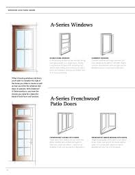 Inswing Awning Windows Brochure Architectural Collection A Series Window Door 9066670