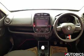 renault kwid black colour renault kwid 2nd anniversary edition dashboard autobics