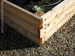 how to build a raised bed garden cheap home outdoor decoration