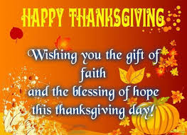 happy thanksgiving wishes for friends and family business clients