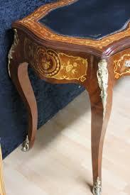 Schreibtisch Antik Louisxv Barock Antik U2013 Stil Schreibtisch Skai Schwarz Mksr0153
