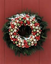 holiday wreaths martha stewart