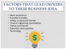 small business ideas and opportunities
