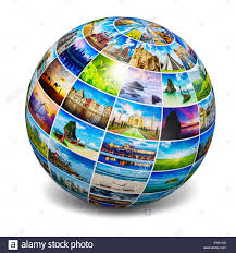 global travel images Global travel media world globe concept picture sphere with jpg