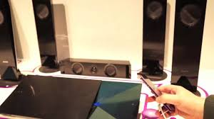 sony home theater with bluetooth sony one touch stereo bdv n7100w youtube