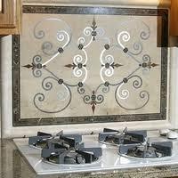 tile medallions for kitchen backsplash kitchen backspash waterjet wonders ltd