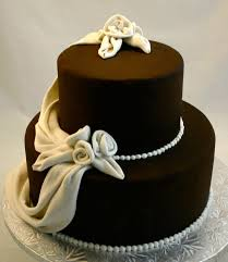 cheap wedding cake ideas 3 tier chocolate miniature wedding cakes