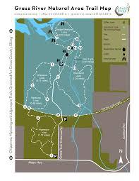 Algonquin Map Hiking Trails Nature Trails Bellaire Michigan Nature Preserve