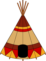 native american clipart tribal pencil and in color native