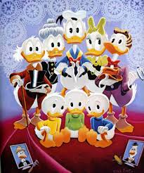 duck family disney