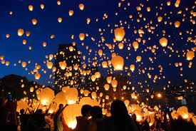 lanterne chinoise mariage photo du lâcher de lanterne dans le michigan wedd