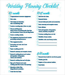 simple wedding planning printable wedding checklist 9 free pdf documents