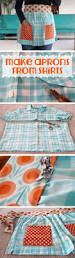 how to make aprons from shirts fashion forward apron and sewing