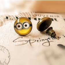 minion earrings amazing 1 pair 10mm tiny minion earrings studs earrings