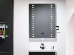 500 x 650 illuminated led bathroom mirror cabinet bluetooth benevola
