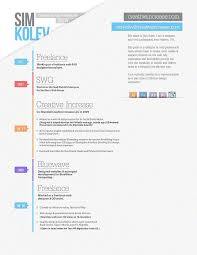 What Is A Visual Resume 50 Inspiring Resume Designs And What You Can Learn From Them U2013 Learn
