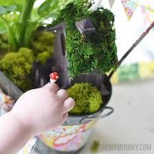 mini fairy garden in a tin gift handmade mother u0027s day gift ideas