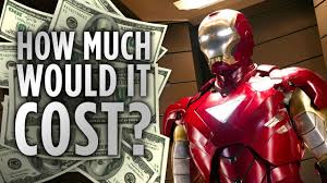 how much would it cost to be iron man youtube