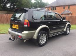 2002 mitsubishi shogun 2 5 td 33000 miles family owned in