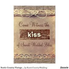rustic wedding sayings rustic country vintage burlap wedding invitations burlap