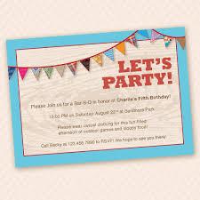 Backyard Birthday Party Invitations Baby Shower Invitations Marvelous Safari Baby Shower Invitations