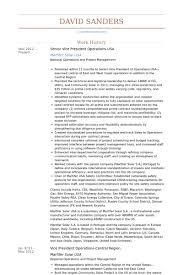 Usa Resume Vice President Operations Resume Samples Visualcv Resume Samples