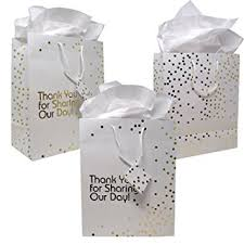 metallic gift bags 12 gift boutique large wedding gift bags metallic gold