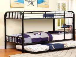 Black Twin Twin Trundle 3 Beds Bunk Bed