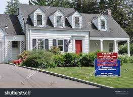 real estate sale open house welcome stock photo 216212137