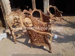 Wooden Carving Furniture Sofa Chiniot Furniture Pakistan Bedroom Set Image Ideas For The
