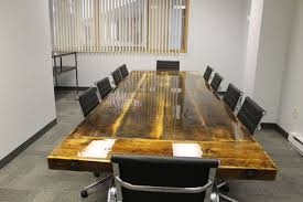 10 x 4 conference table hand crafted 10 x 4 reclaimed conference table with steel i beam