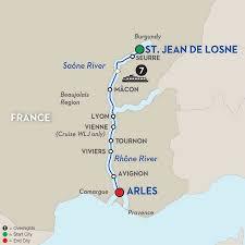 Burgundy France Map by France Provence River Cruise Avalon Europe Cruises