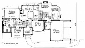 french floor plans french eclectic house plans