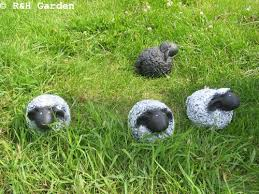 flock of sheep lawn ornaments rhgarden cool lawn ornaments