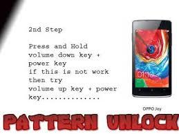 forgot pattern lock how to unlock oppo joy hard reset forgotten pattern lock youtube