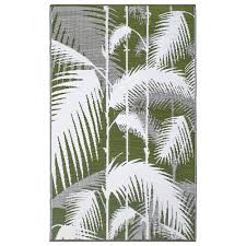 Recycled Plastic Rug Havana Green Recycled Indoor Outdoor Mat Fab Habitat Dfohome