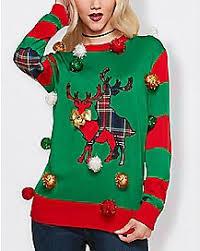 girls sweatshirts u0026 hoodies ugly christmas sweater spencer u0027s
