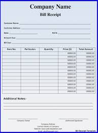 hotel bill receipt template ideas for the house pinterest