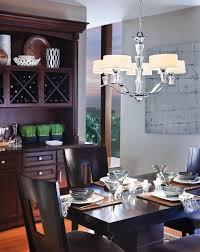 kichler dining room lighting kichler lighting 42030ch crystal persuasion transitional