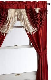 Drapes With Matching Valances Decor Elegant Interior Home Decorating Ideas With Nice Pattern