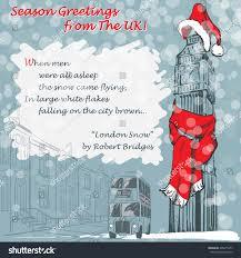 design christmas greeting card big ben stock vector 228415477