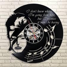 free shipping david bowie rock creative cd vinyl record wall