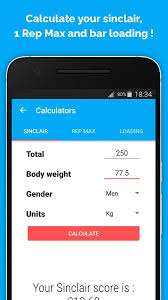 Calculate Your Max Bench Weightlifting Android Apps On Google Play