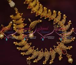 nl9324 gold jewellery kerala design matte finish