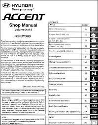 2006 hyundai elantra repair manual 2006 hyundai accent repair shop manual 2 volume set original