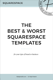 squarespace templates for sale the best worst squarespace templates the studio