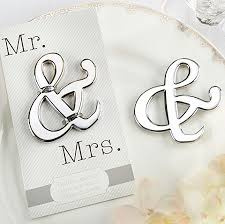 wedding bottle openers mr mrs ampersand bottle opener